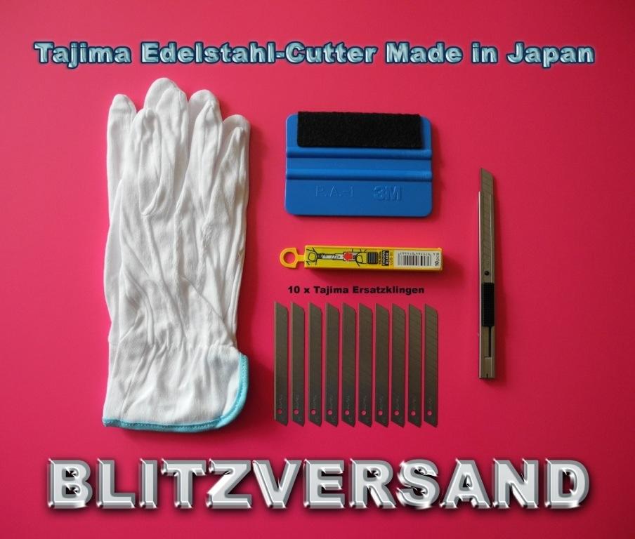 rakel mit filzkante folien verklebe set wrapping cuttermesser made in japan. Black Bedroom Furniture Sets. Home Design Ideas